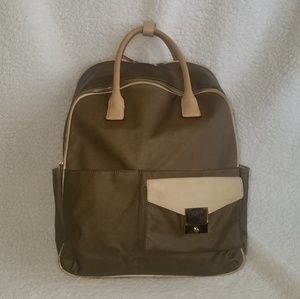 India Hicks Jet Pack Backpack Olive Green Color